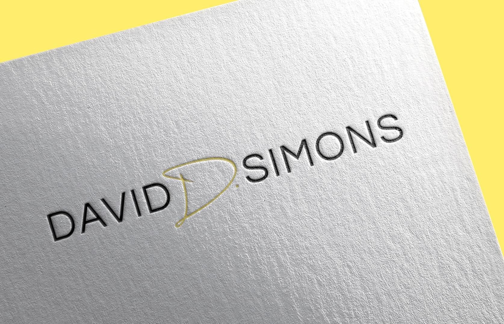 David D. Simons Logo Design by Sargent Branding