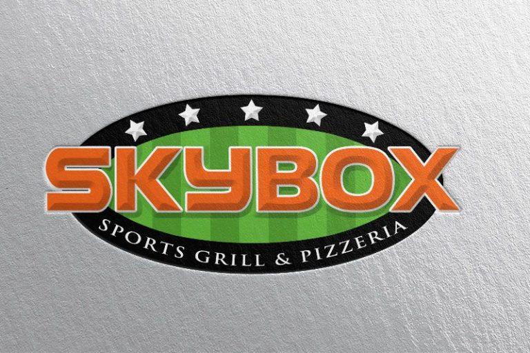 Skybox logo design