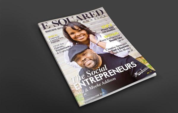 Magazine Layout Design - Wil & Meeke Addison