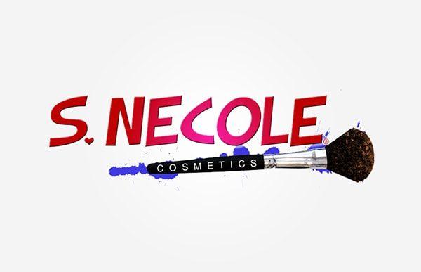 S. Necole Cosmetics Logo Design by Sargent Branding